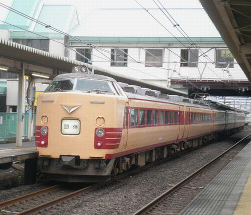 新ニイ485系T18編成(2012年7月7日・北上尾)2