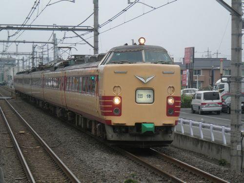 新ニイ485系T18編成(2012年7月7日・北上尾)1