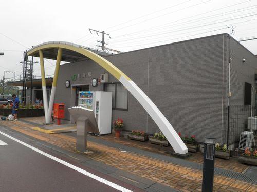 上越線敷島駅(2012年7月7日)