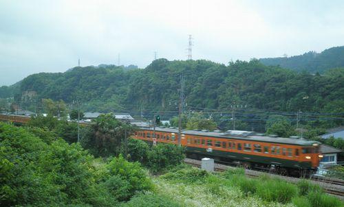 高タカ115系・上越線746M(津久田~岩本間・2012年7月7日)