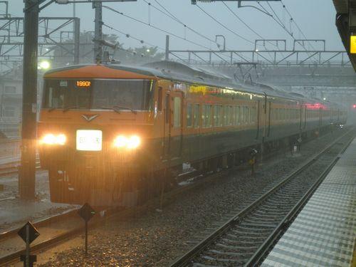 宮オオ185系・OM03編成(2012年7月7日・新前橋)