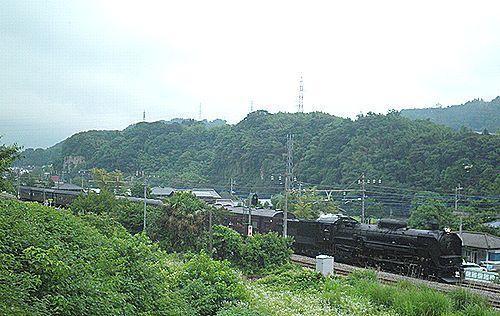 C61 20+旧型客車「SL七夕レトロみなかみ」(津久田~岩本間・2012年7月7日)