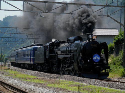 C6120「SLみなかみ」(2011年7月16日・岩本)