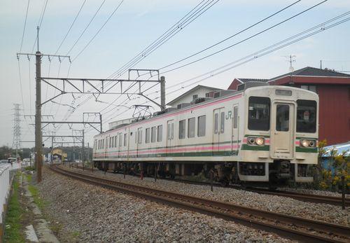 高タカ107系R14編成(2011年11月5日・井野~新前橋間)