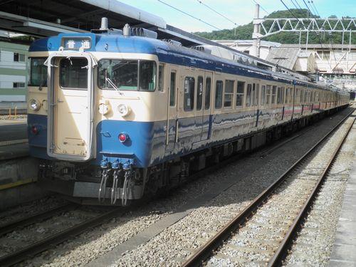 八トタ115系M7+M1編成(2012年7月16日・高尾)