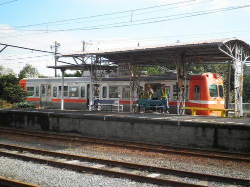 岳南鉄道・岳南原田駅(2011年10月6日)