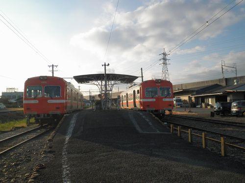 岳南鉄道岳南江尾駅(2011年10月6日)
