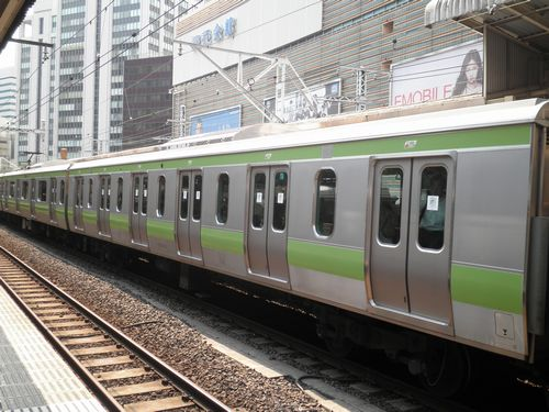 サハE230形500番代(2011年8月26日・有楽町)