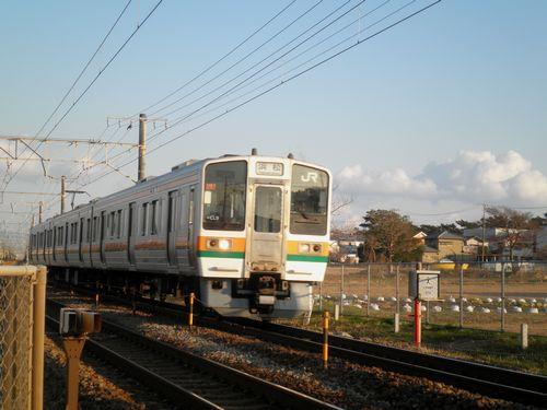 東海道本線原~東田子の浦間「新貨物駅」建設予定地(2012年1月29日)2