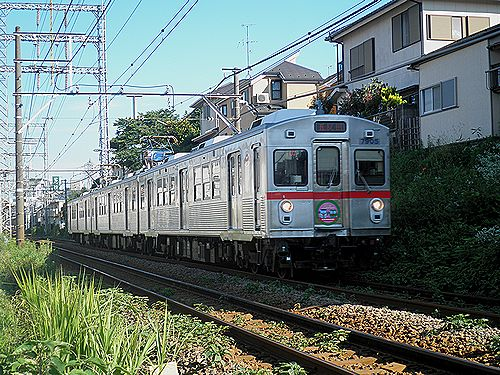 東急7700形7905F(2012年7月10日・久が原~千鳥町間)