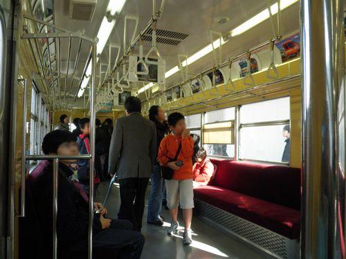 営団地下鉄3000系保存車(2010年11月28日・綾瀬工場)2