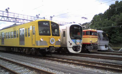 西武南入曽車両基地一般公開(2008年8月30日)