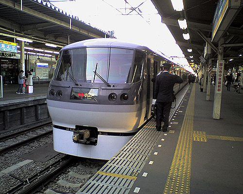 西武新宿線特急「小江戸」(2009年3月30日・所沢)