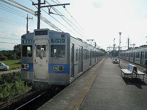 秩父鉄道5000系(2012年8月3日・明戸)