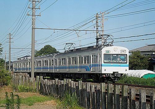 秩父鉄道1000系(2012年8月3日・明戸)