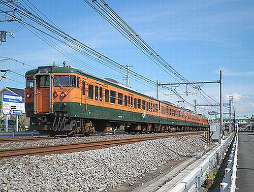 高タカ115系T1090編成(2012年8月3日・北上尾~桶川間)2