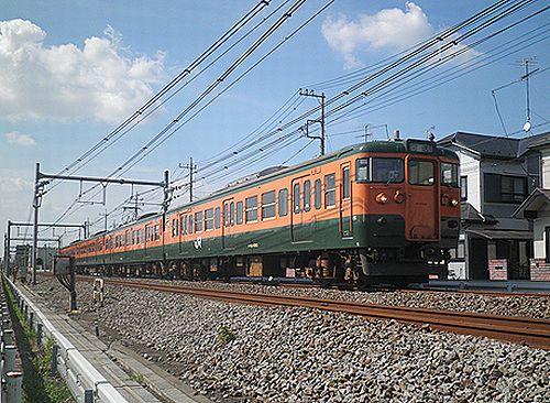 高タカ115系T1090編成(2012年8月3日・北上尾~桶川間)1