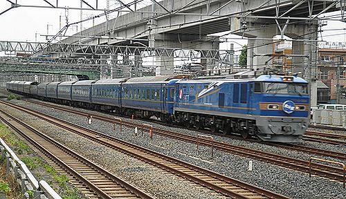 特急「北斗星」(EF510-504牽引・ 2012年8月6日・東十条)1