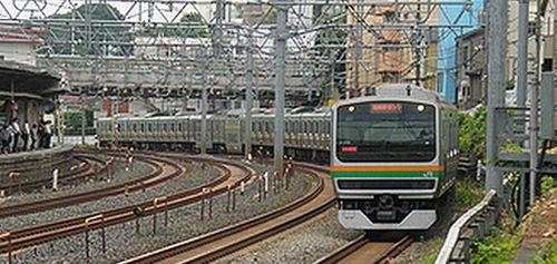 E231系湘南新宿ライン(2012年8月6日・東十条)