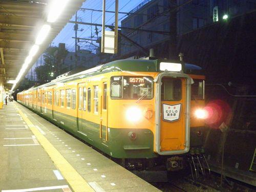 高タカ115系「むさしの奥多摩号」(2012年8月12日・東所沢)