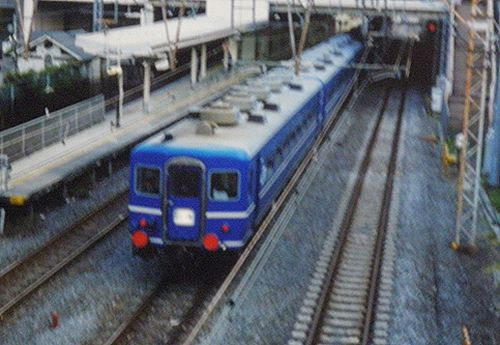 EF65 1113[田]+14系(東オク)「東京おぢば号」(2001年8月27日・大井町~大森間)2