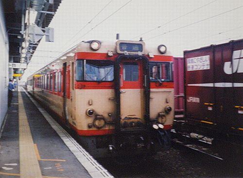 キハ58形(2005年7月・弘前)