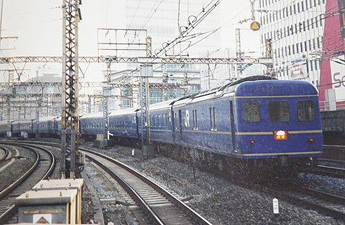 特急「出雲」(2006年3月上旬・有楽町駅)