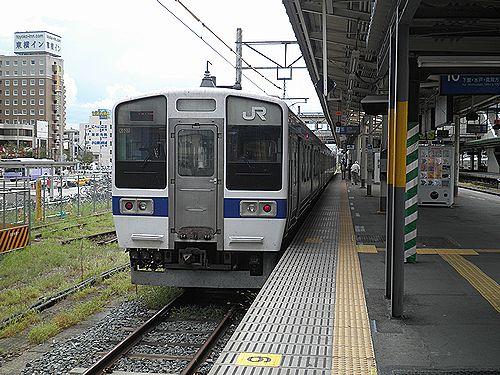水カツ415系1500番代(2012年9月1日・小山駅)