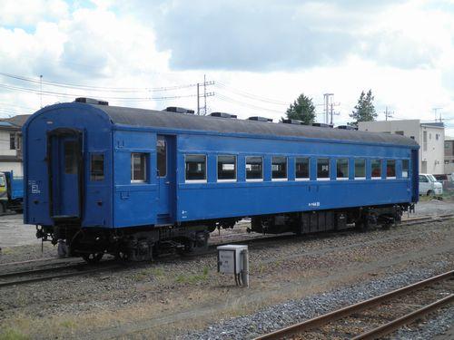 スハフ44 25(函ハコ)(真岡鐵道真岡駅・2012年9月1日)1