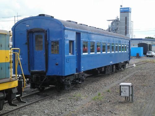 スハフ44 25(函ハコ)(真岡鐵道真岡駅・2012年9月1日)2
