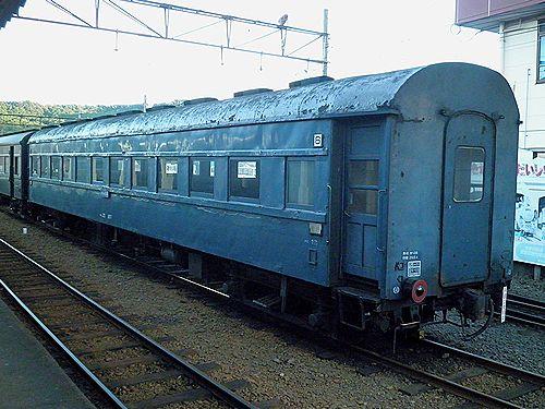 大井川鐵道オハ35 857(2011年9月13日・新金谷駅)