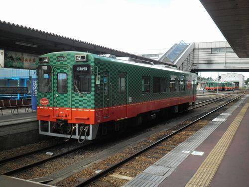 真岡鐵道モオカ14形(2012年9月1日・真岡駅)