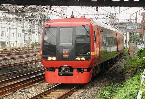宮オオ253系1000番代車・特急「日光1号」(2012年9月8日・東十条)