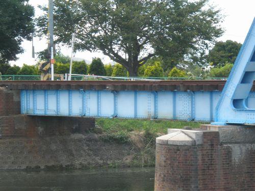 真岡鐵道・五行川橋梁(2012年9月1日)3