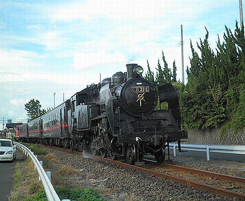 真岡鐵道6103列車(2012年9月1日・寺内~真岡間)2