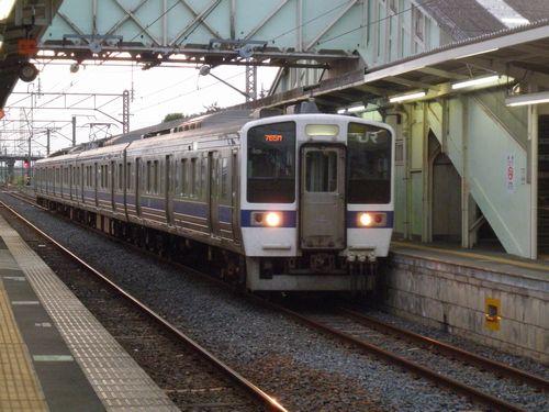水カツ415系1500番代(2012年9月1日・下館)