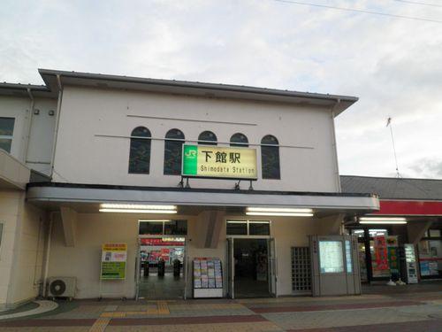 水戸線下館駅(2012年9月1日)