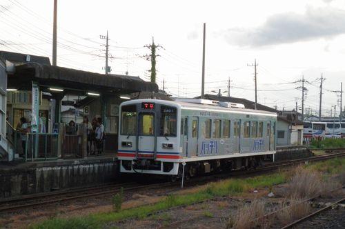 関東鉄道キハ2401(2012年9月1日・下館)