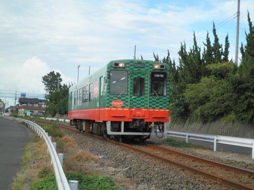 真岡鐵道モオカ14形(2012年9月1日・寺内~真岡間)