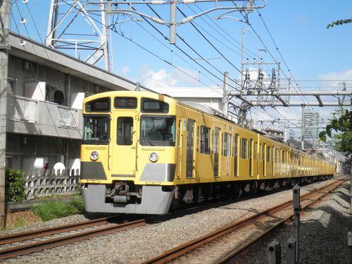 西武2000N系(2012年9月17日・大泉学園~保谷間)