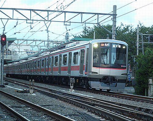 東急4104F・西武線「暫定営業運転」(2012年9月17日・保谷)