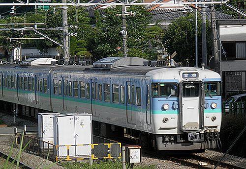 長ナノ115系「C8」編成・クハ115-1512(2012年7月16日・相模湖~藤野間)