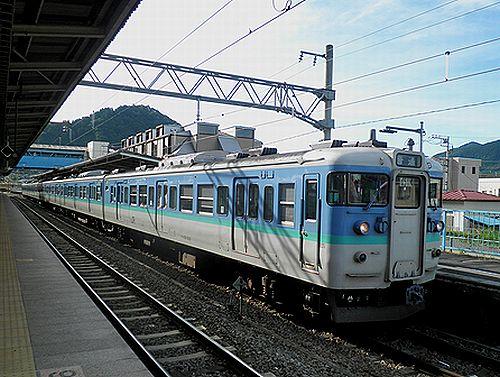 長ナノ115系「C7」編成・クハ115-1221(2012年7月16日・相模湖駅)