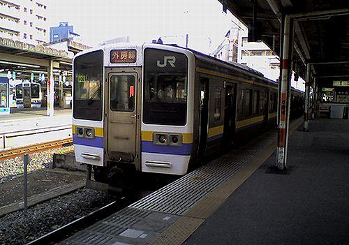 千マリ211系「406」編成(2010年3月3日・千葉駅)