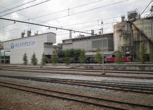 秩父鉄道・武州原谷駅(貨物専用・2012年9月30日)