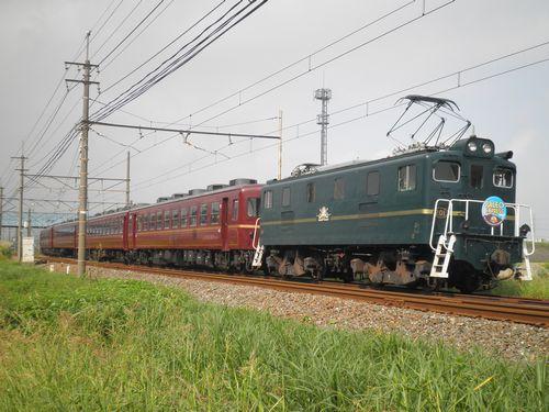 秩父鉄道「ELパレオエクスプレス」(2012年9月30日・ひろせ野鳥の森~広瀬河原間)