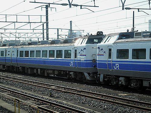 水カツ485系K40+K60編成(2012年9月30日・尾久)2