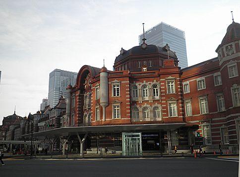東京駅丸の内南口(2012年9月30日)
