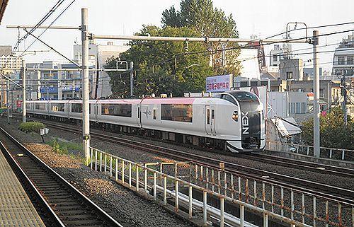 E259系「成田エクスプレス5号」(2012年9月30日・大久保)