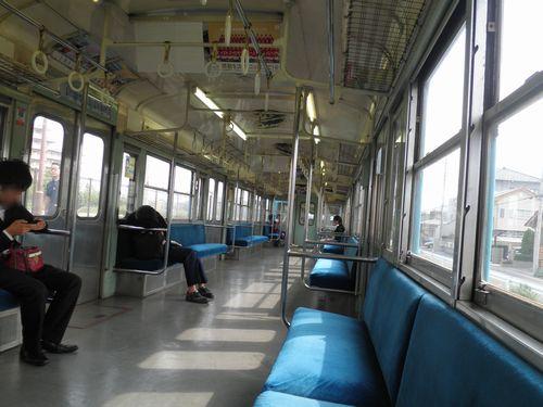 秩父鉄道1000系(1001編成)・デハ1101車内(2012年9月30日)